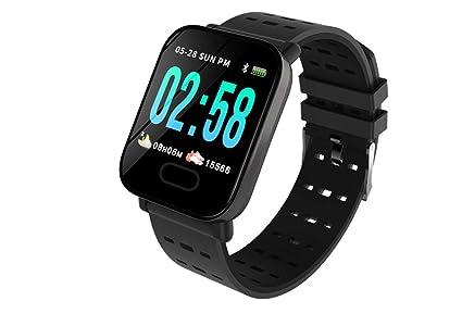 wertyhy Reloj Inteligente Smartwatch Swim a Prueba de Agua ...