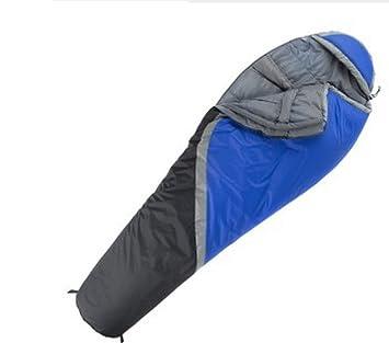 Maleta Liviana Compacta Saco De Dormir Con Capucha Bolso Comprimido Mochila Para Adultos Al Aire Libre Y Camping Xin.S,Blue-190*85cm: Amazon.es: Deportes y ...