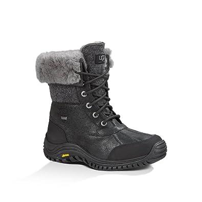 72c9effdc75 Amazon.com | UGG Australia Women's Adirondack Boot II 5 Black | Snow ...