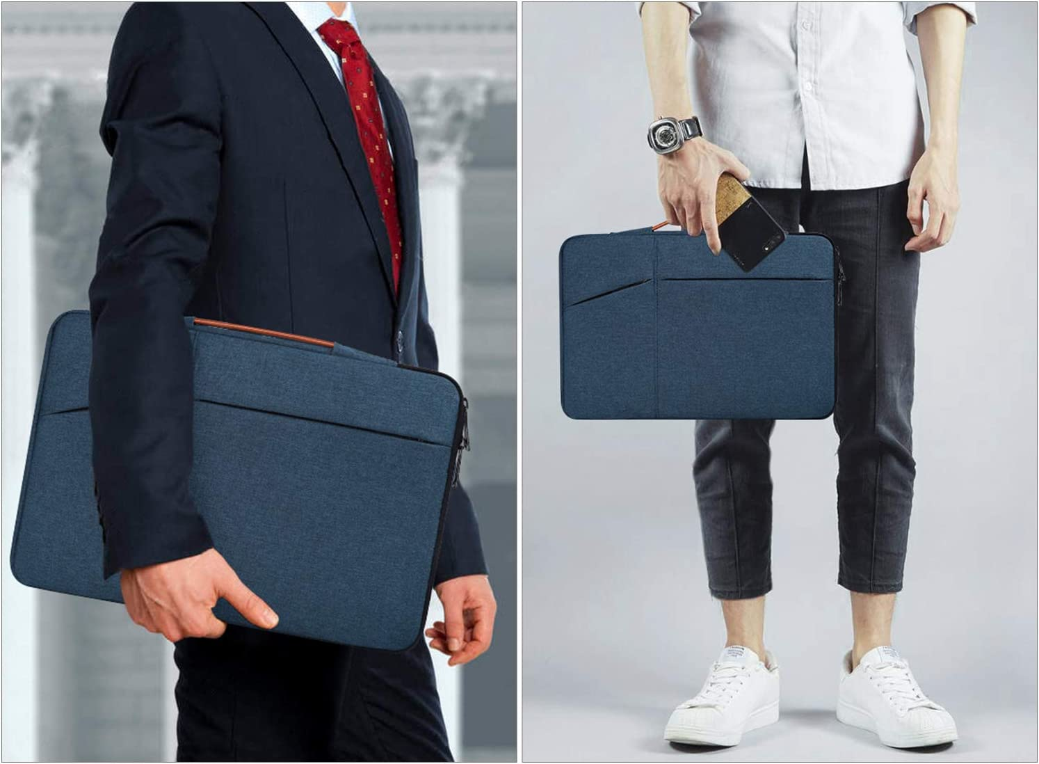 11.6-12.9 inch Laptop Briefcase Bag for Dell XPS 13 7390 9380 9370 11.6 12.2 12.3 inch Chromebook Tablet Bag Case Dell Inspiron 11 Chromebook Lenovo C330 Chromebook Surface Pro X // 7