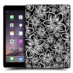 Head Case Designs Daisy BNW Floral Protective Snap-on Hard Back Case Cover for Apple iPad Air 2