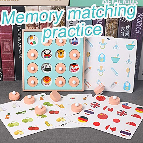XuBa Children Memory Training Matching Pair Game Early Education Interactive Toy Halloween for -