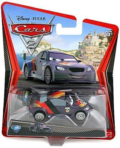 DISNEY PIXAR CARS 2 MAX SCHNELL  LONG CARD