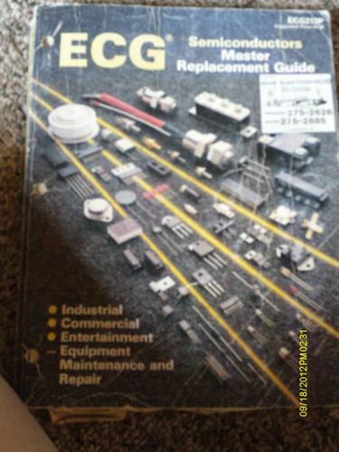 ecg semiconductor master replacement guide ecg212p amazon com books rh amazon com Basic Electronics Guide Electronic Program Guide