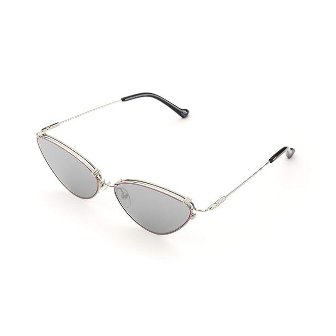 adidas - Gafas de sol - para hombre Plateado plateado Talla ...