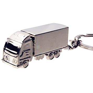 BR elegante aleación de camión coche clave cadena llavero ...