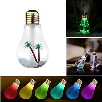 Dobo® Bombilla – Difusor de aromas a forma lámpara humidificador ...