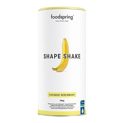 foodspring - Shape Shake - Sabor plátano - Logra todos tus objetivos de forma natural y