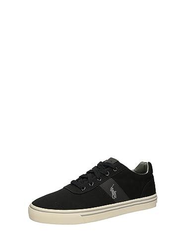 721d78f02 Polo Ralph Lauren - Sneakers - Men - Hanford Coal Grey Canvas Sneakers for  men -