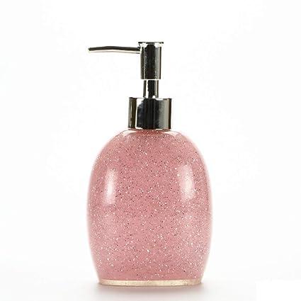 NAERFB Presione el dispensador de jabón de Lavar Las Manos Botella Botella de Emulsión Gel de