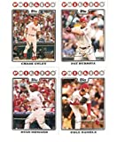2008 Topps Philadelphia Phillies Complete Team Set ( 22 - Baseball Cards from both Series 1 & 2) Includes Chase Utley, Jimmy Rollins, Ryan Howard and more !