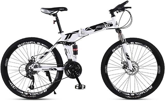WJSW Bicicleta de montaña Bicicleta para niños 21/24/27 Velocidad ...