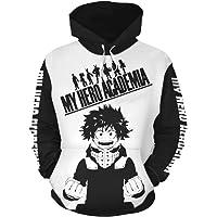 Todoroki Shoto Cosplay Anime Jacket My Hero Academy 3D Sweater Cardigan Hoodie Cosplay Anime Sweatshirt