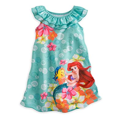 a83e5e8892 Amazon.com  Disney Store The Little Mermaid Ariel Nightgown Pajama ...