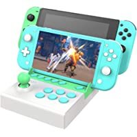 Mini Arcade Fight Stick for Nintendo Switch, Desktop Portable Machine Gamepad, Street Fighting Games Controller Joystick…