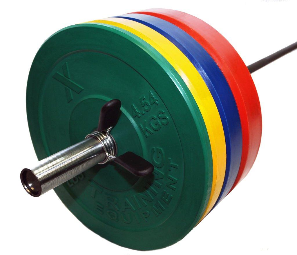 X Training Premium Color Bumper Plate