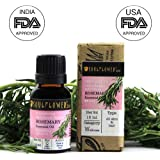 Soulflower Rosemary Oil for Hair and Skin, 15ml