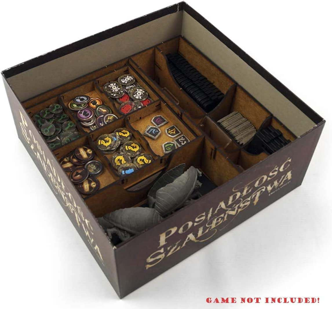 docsmagic.de Organizer Insert for Mansions of Madness: Second ...
