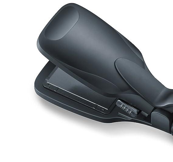 Beurer HT60 - Plancha de cabello multifunción cerámica, color negro y cromado: Amazon.es: Salud y cuidado personal