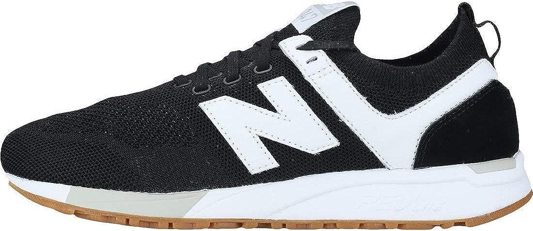 New Balance Herren Mrl247d1 Sneaker, grau Schwarz / Weiß