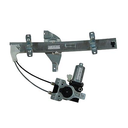 TYC 660211 For Pontiac Grand Prix Power Replacement Rear//Right Window Regulator