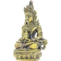 P Prettyia Scultura Figurine Buddha Statua per Decorazione Casa Ufficio-Rame 35gram