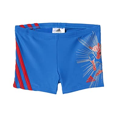 44876fc55967 MAILLOT DE BAIN SPIDERMAN GARCON - adidas Performance  Amazon.fr ...