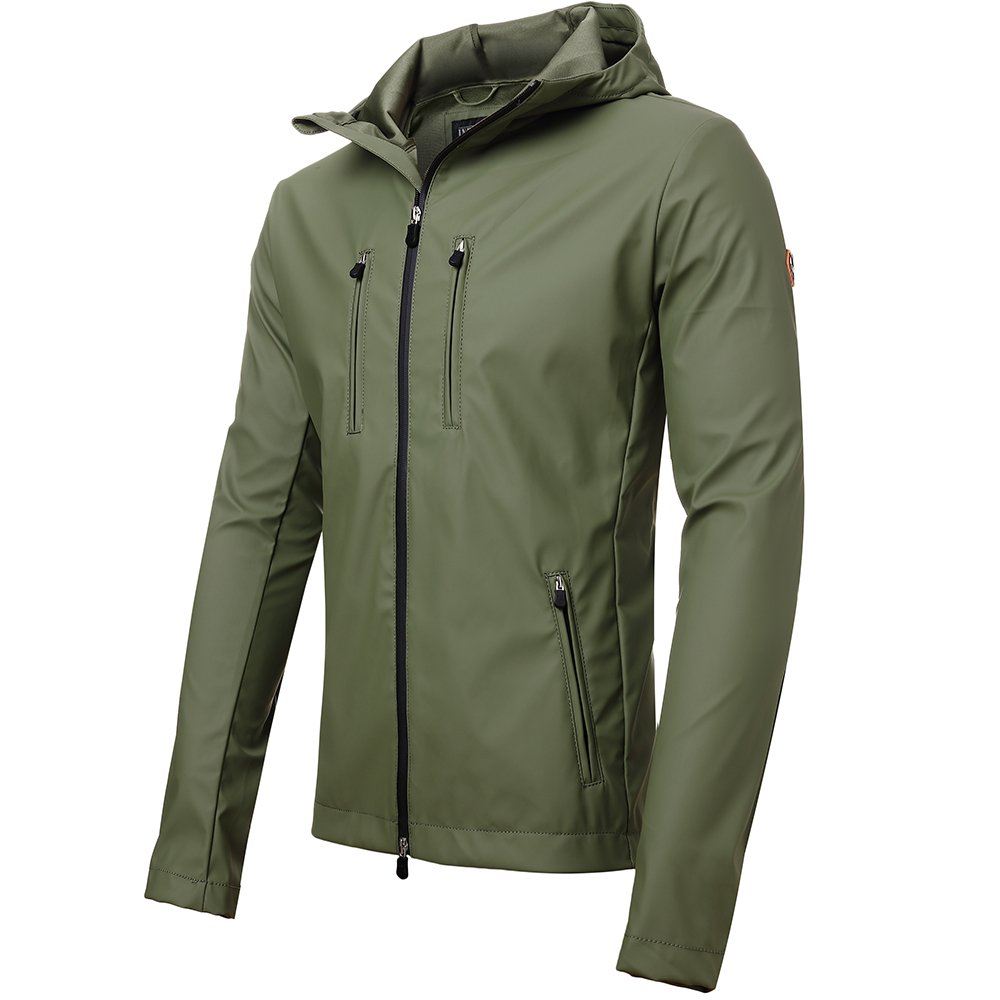 INFLATION OUTERWEAR メンズ B0756WR62W L|Green (Short Version) Green (Short Version) L