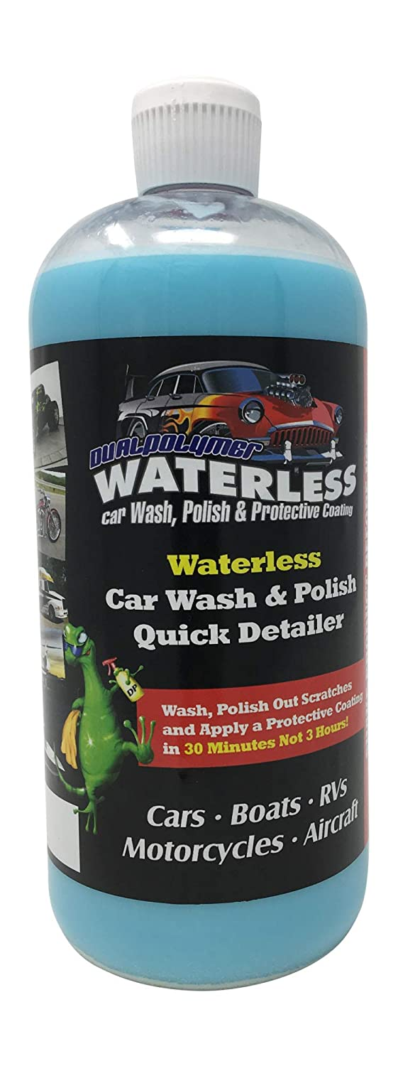 Red Oak Collections DualPolymer Waterless Car 32oz Refill | Made in USA | Microfiber Towel Reusable Litter Bag Included Evans Marketing Group
