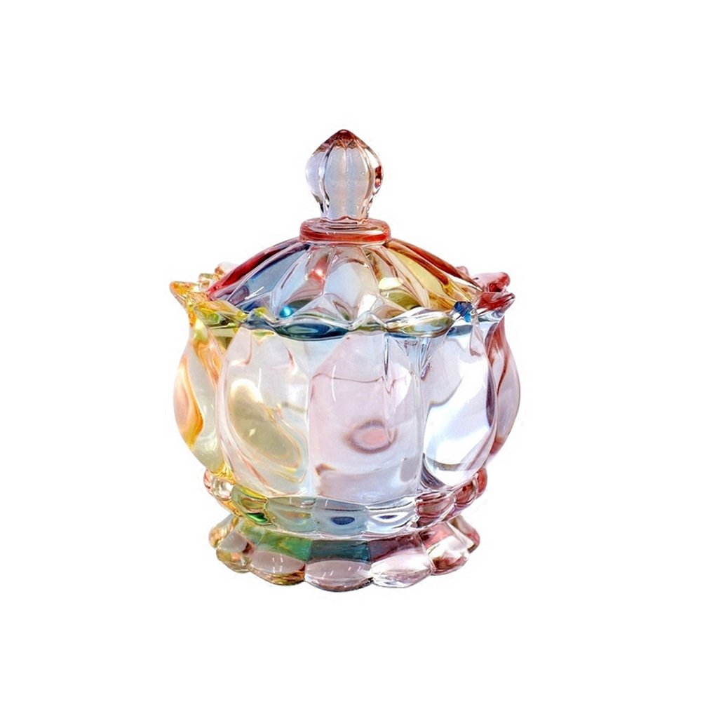 Glass Design Sugar Bowls Personalized Candy Dishes Sweet Jars Storage Jar East Majik