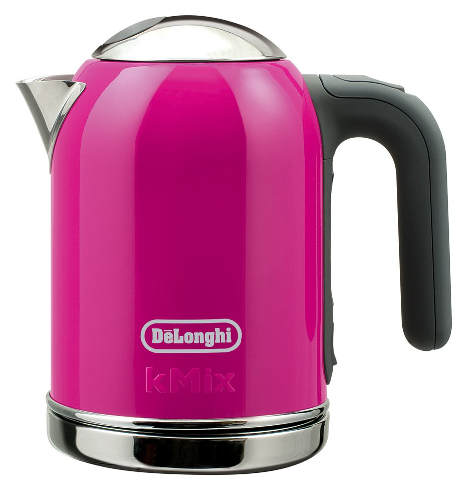 DeLonghi kmix boutique kettle electric 0.75L Magenta SJM010J-MG