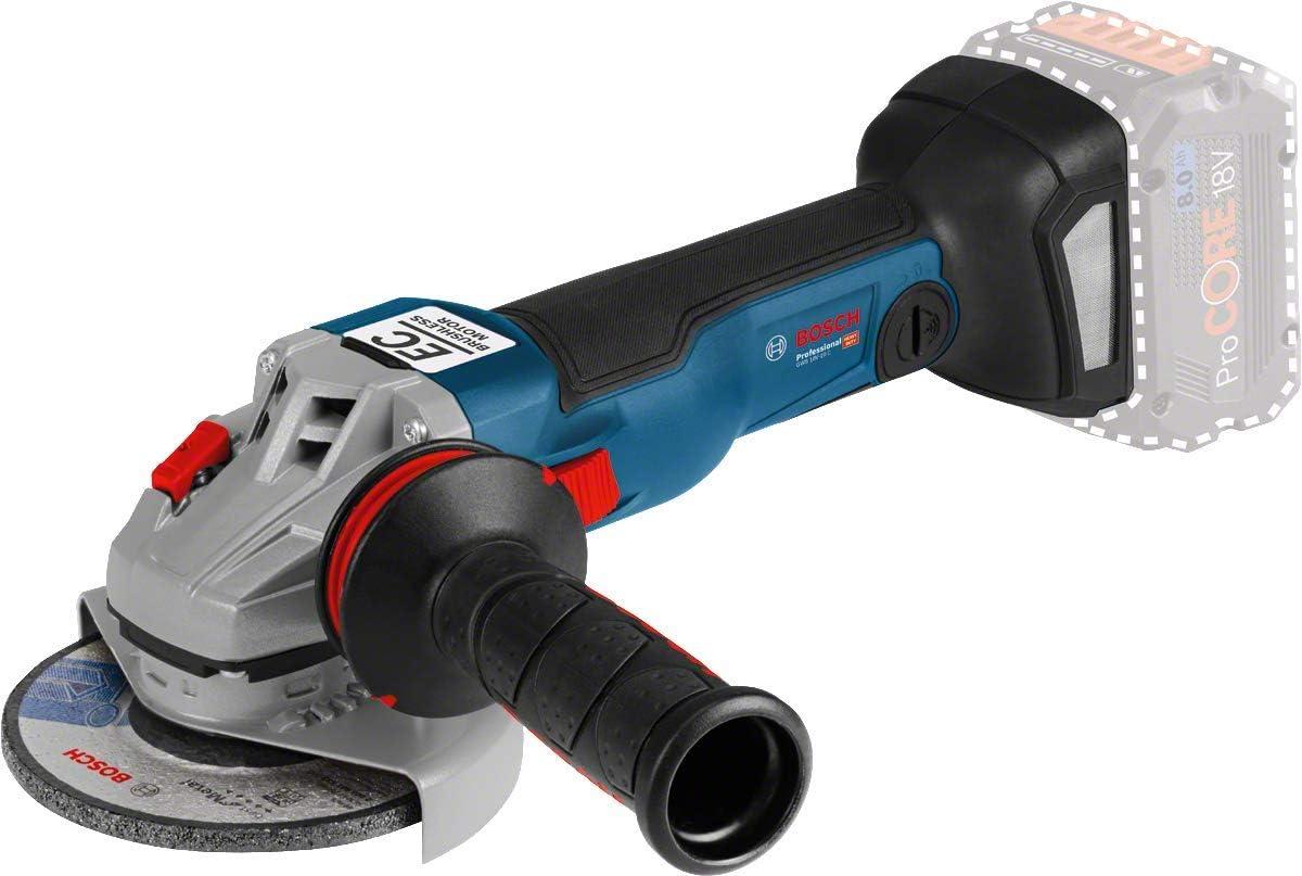 Bosch GWS18-125 V-LI Professional 18 V 125 mm sans fil Meuleuse d/'angle-Bare