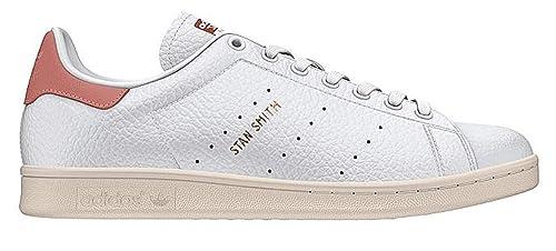 competitive price 10d48 fe400 adidas Originals Men's Stan Smith Running Shoe, White/RAW Pink, 9.5 Medium  US