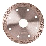 GoYonder Diamond Circular Saw Blade (HIGH PERFORMANCE) Perfect for Cutting Tile & Other Masonry Work (4 Inch)