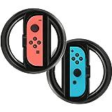 Joy-Con Steering Wheels TopAce Volant De Course Roue pour Nintendo Switch Contrôleur Grips?Noir?