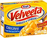 Kraft Velveeta, Original Shells and Cheese, 12 oz Box (Pack of 8)