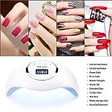 Gel UV LED Nail Lamp Jewhiteny Nail Dryer 72W Gel