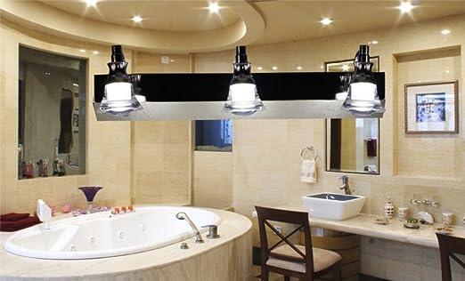 Badezimmer spiegellampe moderne minimalistischen kristall