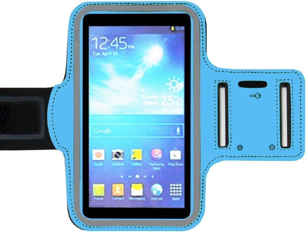 ADEL - Brazalete Deportivo de Microfibra, Compatible con LG G7 Fit ...