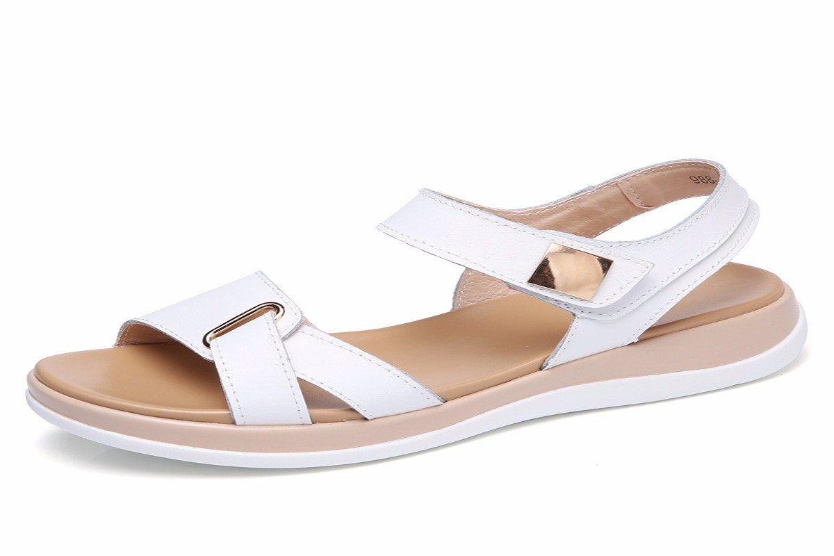 HBDLH-Damenschuhe/Frühjahr Lederschuhe-Schuhe Mutter Casual Schuhen (Schuhe Flache Sohle Schuhe Schwester Schuhe.