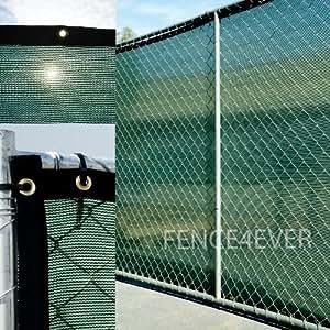 Amazon Com 6 X50 Dark Green Fence Privacy Screen