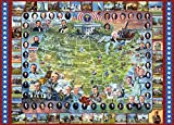 us 1000 bill - White Mountain Puzzles US Presidents - 1000 Piece Jigsaw Puzzle