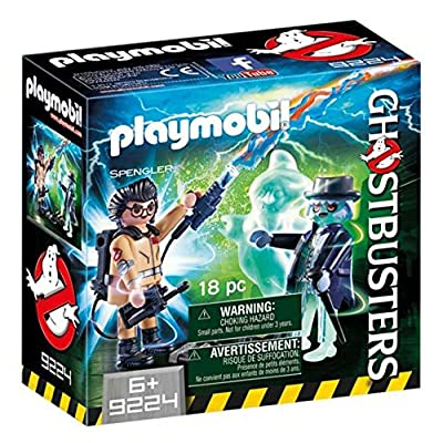 PLAYMOBIL Spengler and Ghost: Toys & Games