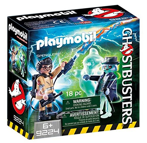 Playmobil 9224 Ghostbusters Spengler with Ghost