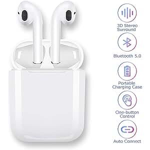 Auriculares Bluetooth 5.0 Auriculares Inalambricos Cascos Bluetooth Headphone Deportivos Estéreo con Mic
