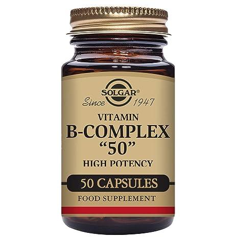 Solgar B Complex 50-50 Cápsulas