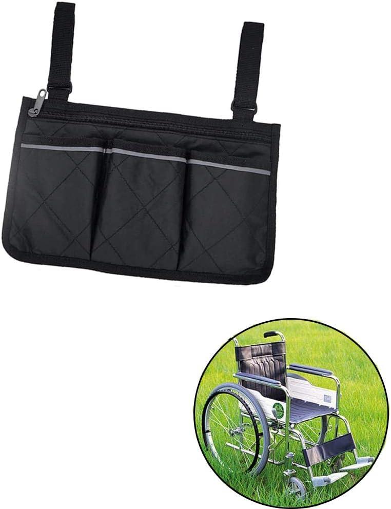 Bolsa de Almacenamiento Sillas de Ruedas, Accesorios para Sillas de Ruedas Bolsa, Bolsa para sSillas de Ruedas, BAdecuado para sillas de ruedas, sillas infantiles, sillas eléctricas