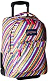 JanSport Wheeled Superbreak, Multi Texture Stripe, One Size