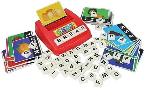 Alfabeto Cartas Cartas for deletrear Alfabetización Divertido ...
