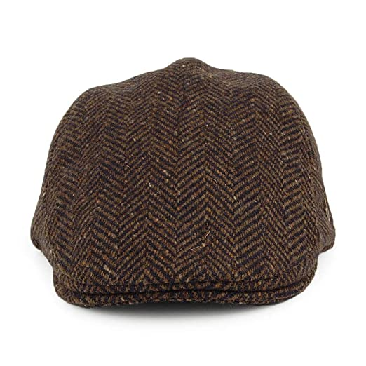 Failsworth Gorra Plana Stockholm Tweed Donegal diseño Espiga ...